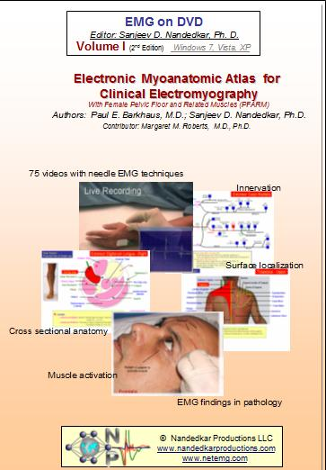 Electronic Myoanatomic Atlas for Clinical Electromyography  ( 2nd Edition )