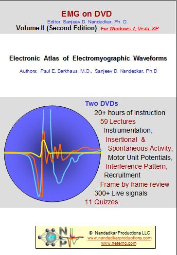 Electronic Atlas of Electromyographic Waveforms ( 2nd Edition ) - 2 DVDs