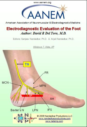 Electrodiagnostic Evaluation of the Foot