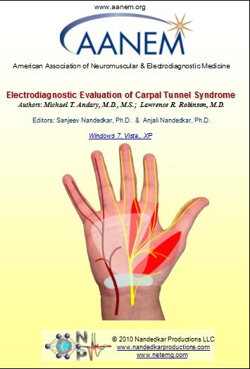 Electrodiagnostic Evaluation of Carpal Tunnel Syndrome